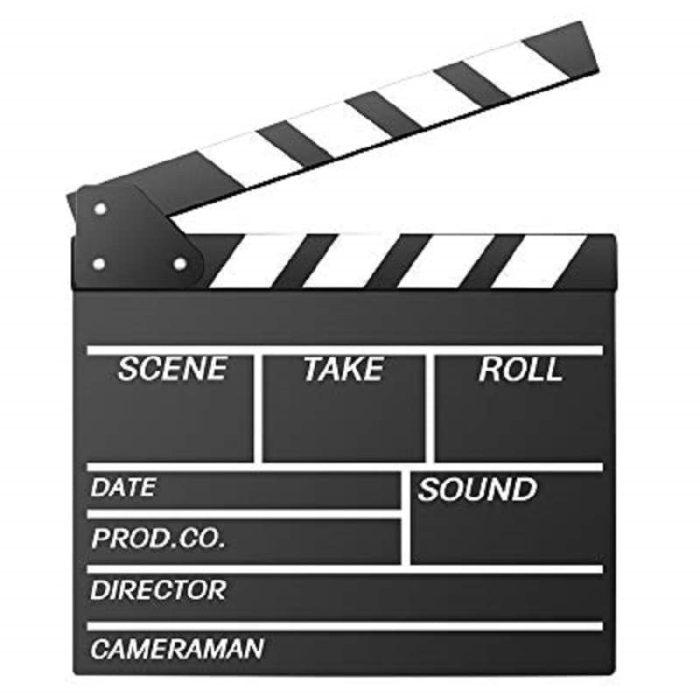 کلاکت فیملبرداری   Clapperboard 1