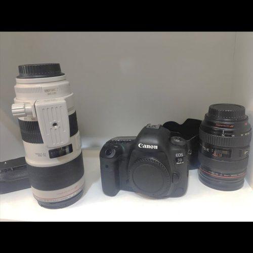 دوربین کنون 5d مارک ۴ کارکرده + لنز 70-200 f2.8 L دست دوم 3