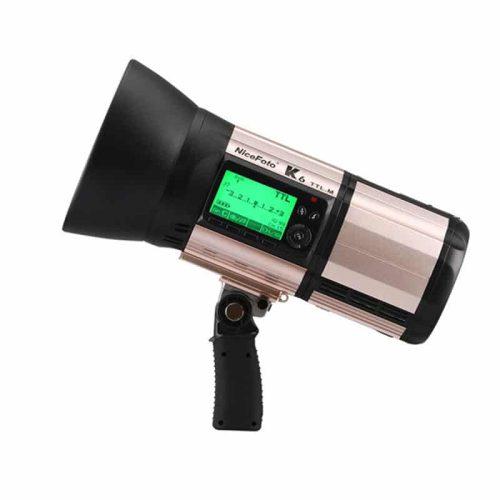 فلاش پرتابل نایس فوتو مدل Nicefoto K6 TTL.M با قدرت 600 ژول 1