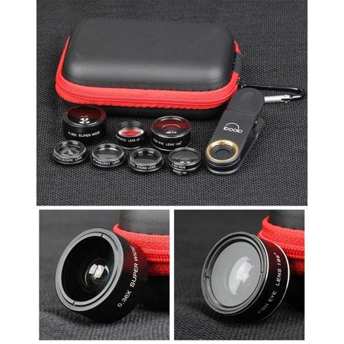 لنز موبایل-پک 8 تایی لنز های موبایل-دیجیلا استور